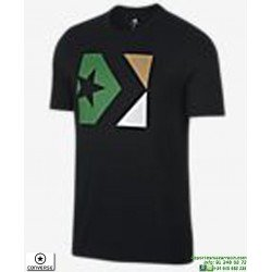 Camiseta Converse Seasonal Star Negro 10005884-A05 hombre