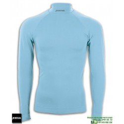 Camiseta Termica JOMA BRAMA CLASSIC Cuello Azul Turquesa 3477.55.112S manga larga