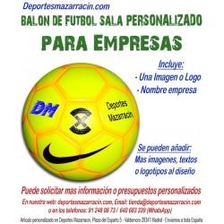 Balón de Futbol Sala PERSONALIZADO Para Empresas imagen Logotipo Nombre Nike Football X Menor