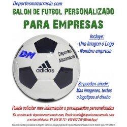 Balon Futbol PERSONALIZADO Para Empresas EPP Logotipo imagen Nombre Adidas CD6577