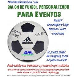 Balon Futbol PERSONALIZADO Para evento EPP Logotipo imagen Nombre fecha Adidas CD6577