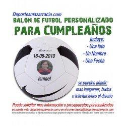 Balon Futbol PERSONALIZADO Para Cumpeaños nike Imagen foto Nombre fecha pitch SC3166-100