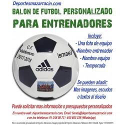 Balon Futbol PERSONALIZADO Para entrenador EPP Imagen foto Nombre equipo  fecha temporada Adidas CD6577 a3b89acf0b6a6