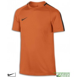 Camiseta Deporte Junior NIKE DRY ACADEMY TOP Poliester DRI FIT Naranja 832969-806