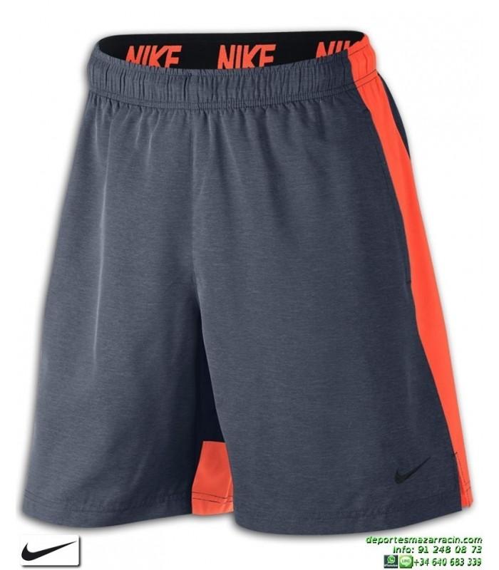 ecc50fdd5 Pantalon Corto NIKE Flex Training Shorts Gris-Naranja