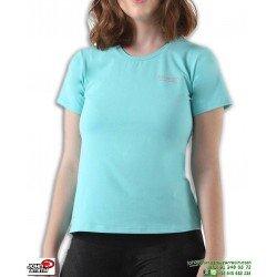 Camiseta Señora JOHN SMITH PADENGUE Verde Agua Vigore corte ancho manga corta