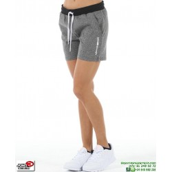 Short Mujer Gimnasio John Smith GOPEJAS Ceniza Vigore tenis padel deporte algodon Mujer