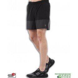 Pantalon Running Corto JOHN SMITH APEX Negro hombre correr deporte sport gimnasio