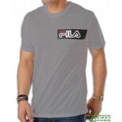Camiseta FILA AGILE Gris Algodon 682044-GREY Hombre