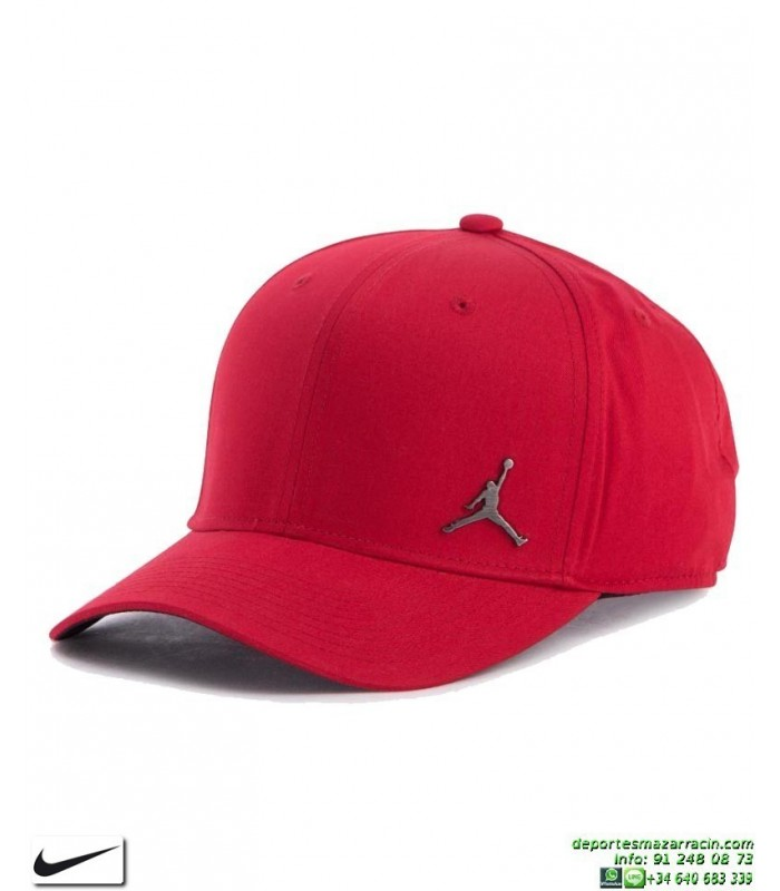 6b206ef1cb15 Gorra Jordan NIKE Classic99 Metal Jumpman Hat Rojo
