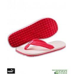 Chancla Puma EPIC FLIP v2 Chicas Rosa-Coral sandalia dedo niña mujer playa piscina 360288-14