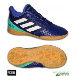 Adidas PREDATOR Niño TANGO 18.4 Marino Zapatilla Sala CP9232