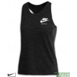 Camiseta Tirantes Mujer Nike SPORTWEAR VINTAGE Gris Vigore algodon 890557-010