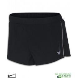 Pantalon Running Corto NIKE FAST Negro-Reflactante 893039-010 hombre correr