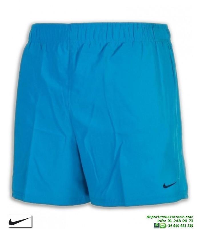 fácilmente Olla de crack En el nombre  Bañador Bermuda NIKE SWIM SHORT Azul Hombre playa piscina