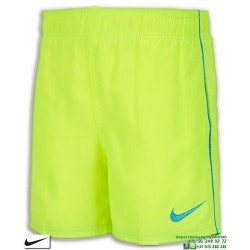Bañador Bermuda NIKE SWIM SHORT Junior Amarillo Volt niño playa piscina NESS8675-737