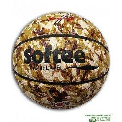 Balon de Baloncesto CAMUFLAJE 7 Softee cuero