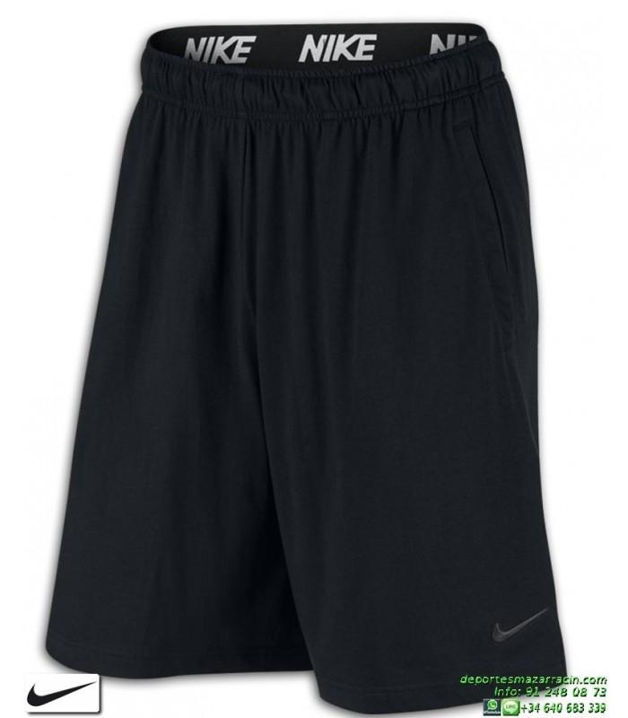 Shorts Algodon Pantalon Negro Corto Hombre Nike Training 842267 010 Kc1Jl3uTF