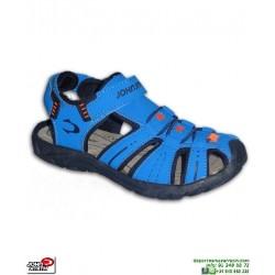 Sandalia Niño John Smith UWAN Azul chancla proteccion dedos