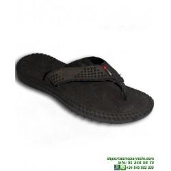 Chancla TREKKING +8000 John Smith PENTEX 18 Negro caminar playa piscina senderismo