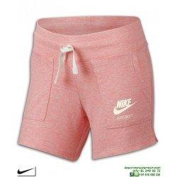 Short Chica NIKE SPORTSWEAR VINTAGE Rosa Vigore 890556-697 pantalon corto mujer algodon