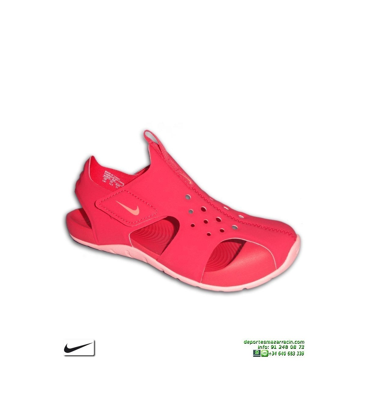 0b12899227d ... Sandalia Nike SUNRAY PROTECT 2 Niña Rosa PS 28-35 · Sandalia ...