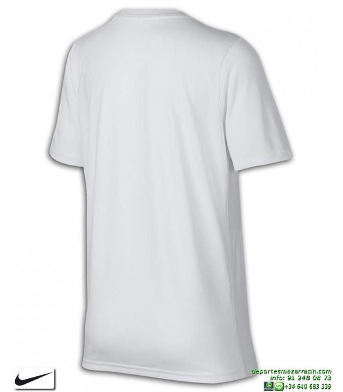 Camiseta Junior NIKE DRY Blanco JUST DO IT deporte 913159 100
