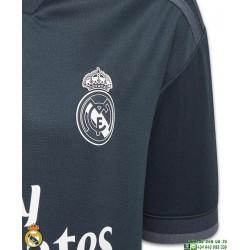Camiseta REAL MADRID 2018-2019 Negra 2ª Equipacion Junior Adidas Oficial LFP CG0533 futbol