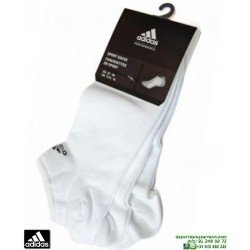 Calcetin ADIDAS Invisible Pinky Fino blanco Pack de 3 pares