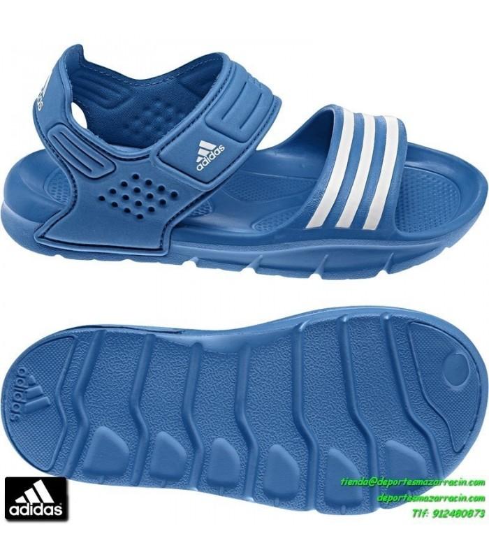 513c931bc Adidas Infantil Sandalia Playa Niño 8 Junior Piscina Azul Chancla Akwah  vFvHZqU