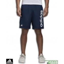 Pantalon Corto ADIDAS ESS LINEAR CHELSEA 2 Azul Marino BS5040 hombre tenis padel climalite Tactel
