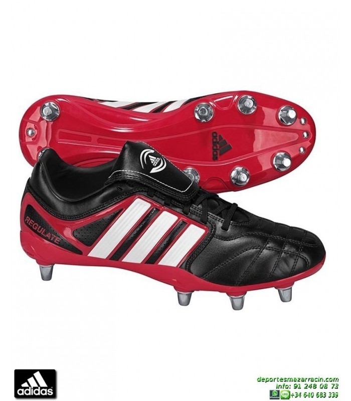 ADIDAS ADIPURE REGULATE RUGBY NEGRO bota tacos aluminio RECAMBIABLES