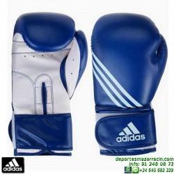 Guante de Boxeo ADIDAS TRAINING PU Azul personalizable nombre bandera adiBT02