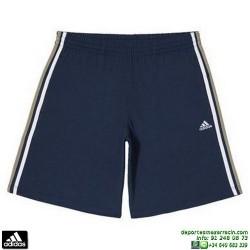 ADIDAS Pantalon Corto ALGODON AESS 3S HSJ SHO Azul Marino M67735
