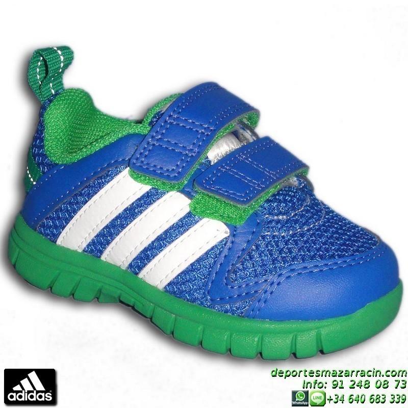 Zapatillas adidas Sta Fluid 3 Cf I rosa azul infantil