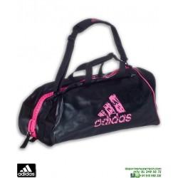 Bolsa Deporte Para Artes Marciales ADIDAS CONVERTIBLE Negro-Rosa ADIACC051BP
