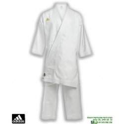 Kimono Karate ADIDAS CHAMPION Karategi Kata WKF CORTE JAPONES  k-460-j Blanco