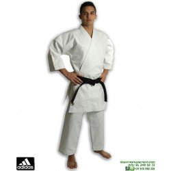 Kimono Karate ADIDAS KIGAI 2.0 Karategi Kata CORTE JAPONES K-388-J Blanco WKF