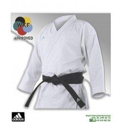 Kimono Karate ADIDAS REVO FLEX WKF karategi Kumite Blanco K-190-SK