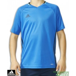 Camiseta Deporte ADIDAS CON16 TRG JSY Azul Poliester junior AB3063