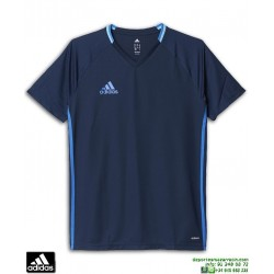Camiseta Deporte ADIDAS CON16 TRG JSY Azul marino Poliester Hombre