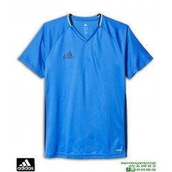 Camiseta Deporte ADIDAS CON16 TRG JSY Azul Royal Poliester Hombre AB3061
