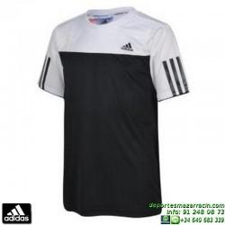 Camiseta Deporte ADIDAS B CLUB TEE Junior Negro AJ3252 Manga Corta niño tenis padel