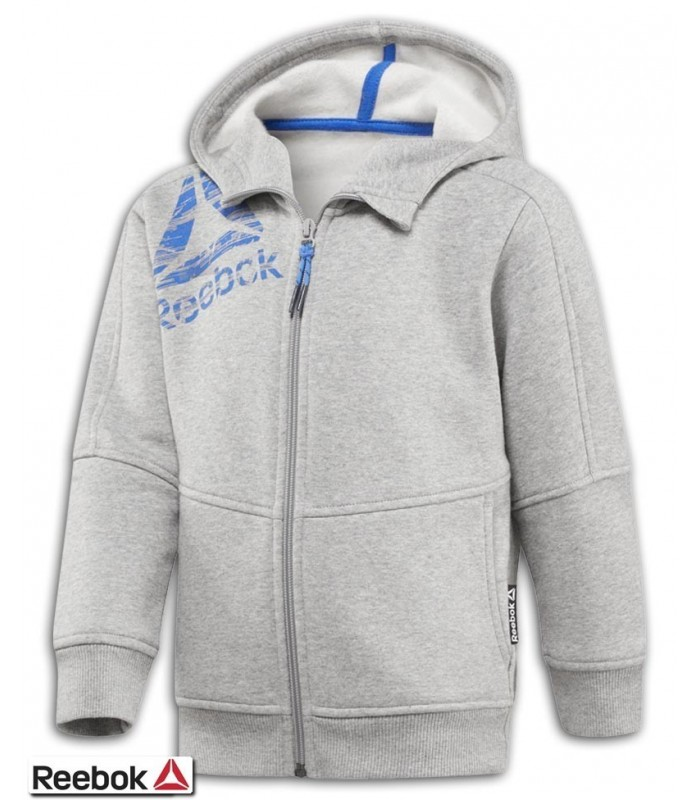 Sudadera Junior REEBOK Boys Essentials Full Zip Fleece
