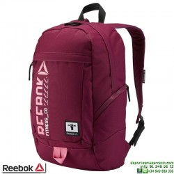 Mochila REEBOK MOTION U ACTIVE BACKPACK Rebber burdeos AY1816