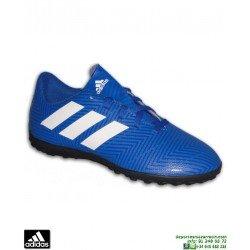 ADIDAS NEMEZIZ Niños Tango 18.4 Azul Zapatilla Futbol Turf