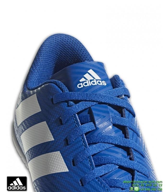 zapatillas adidas azules junior