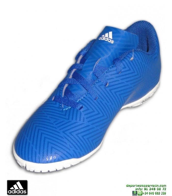 04b898310 ADIDAS NEMEZIZ Niños Tango 18.4 Azul Zapatilla Futbol Sala DB2384 Junior  Lucas Vazquez