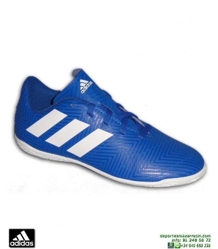 cheap for discount 3dfa2 6b6e8 ADIDAS NEMEZIZ Niños Tango 18.4 Azul Zapatilla Futbol Sala DB2384 Junior  Lucas Vazquez Ampliar
