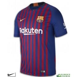 Camiseta FC BARCELONA 2018-2019 1ª Equipacion Oficial Nike futbol hombre 894430-456 Azulgrana